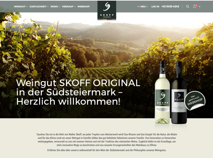 Website Referenz SKOFF ORIGINAL
