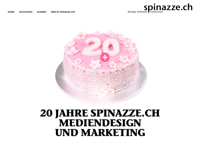 Website Referenz spinazze.ch