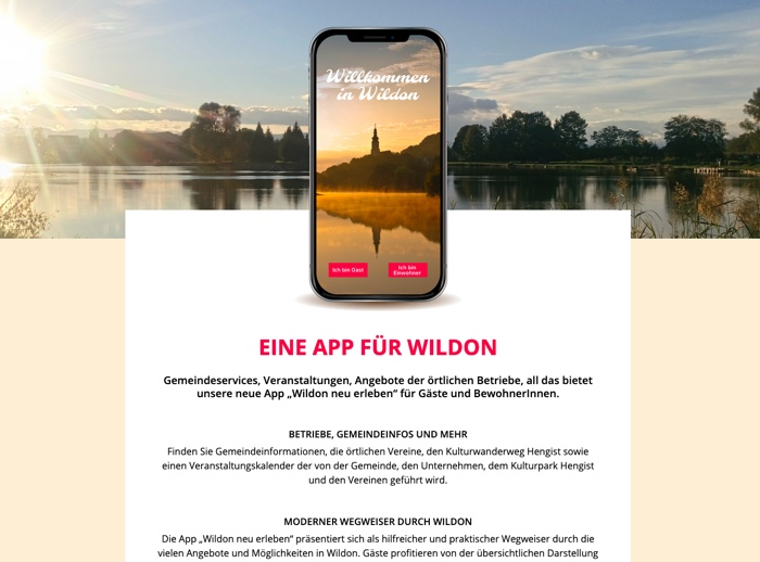 App Referenz Wildon-App